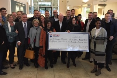 RE/MAX of Nanaimo Donates to Children's Miracle Network