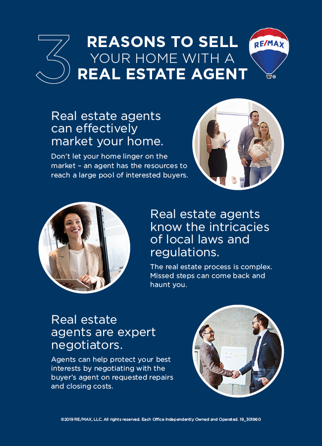Reasons to Sell with a Real Estate Agent