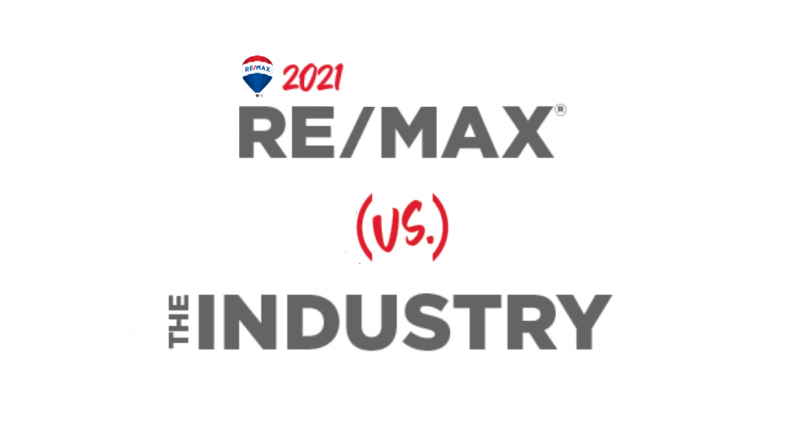 How RE/MAX Compares to the Real Estate Industry in 2021